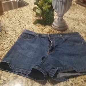 Blue Jean shorts, size 10